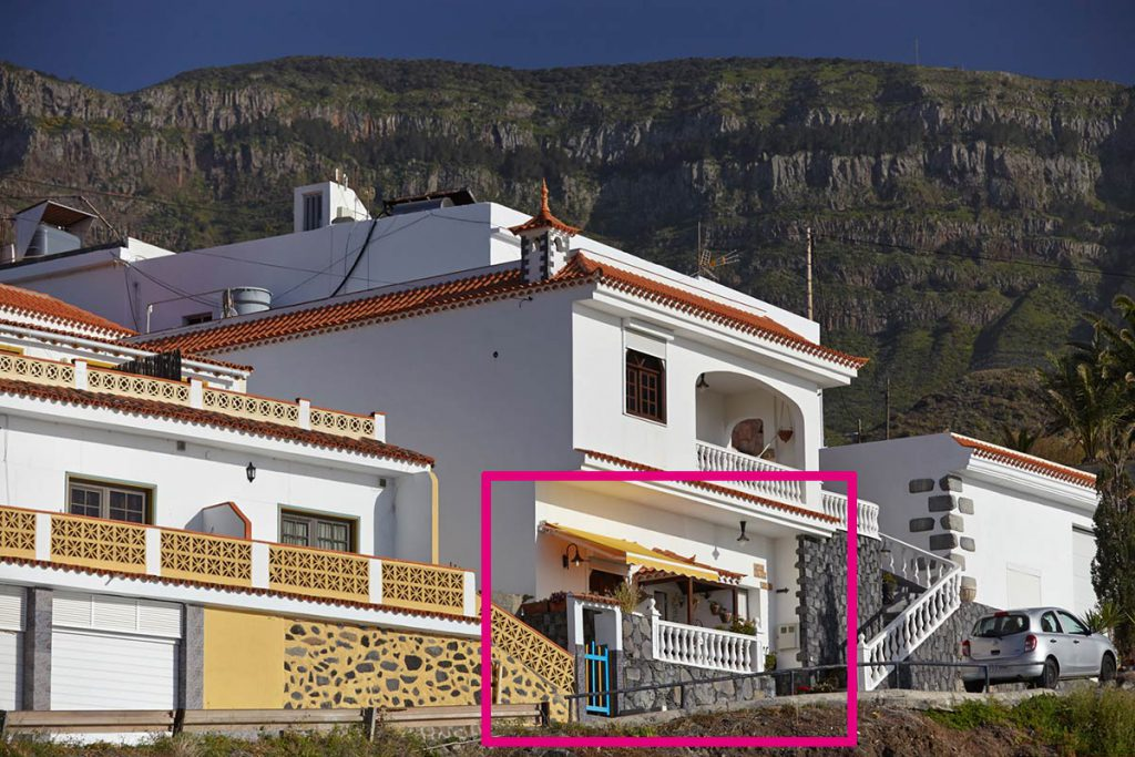 Casa Jackie, apartment in Alojera, La Gomera