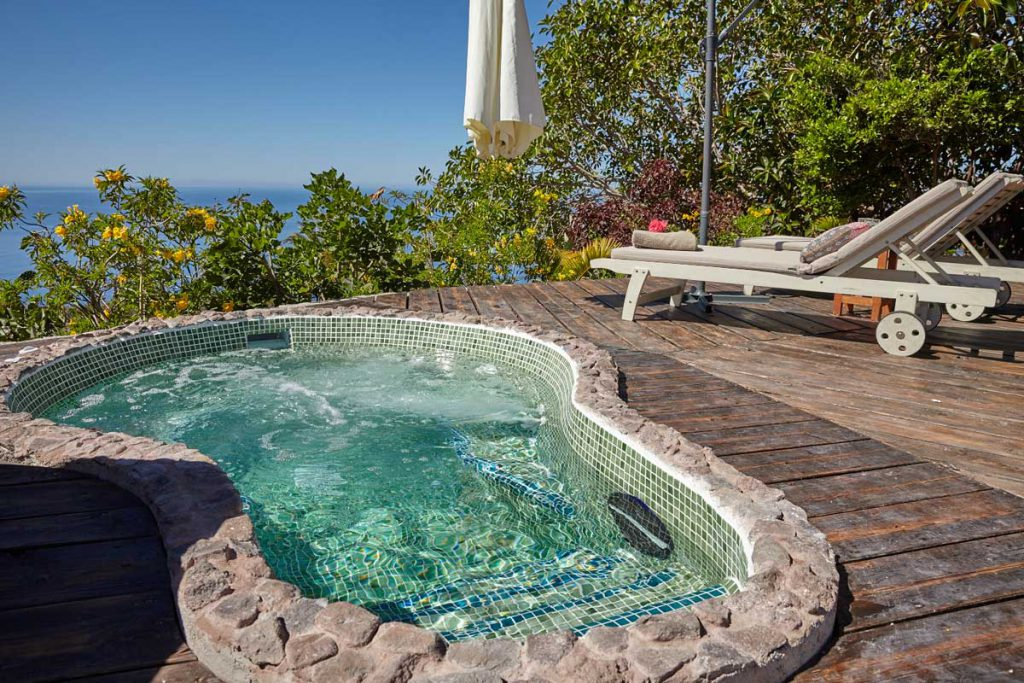 holiday home on La Gomera, with whirlpool and sea view