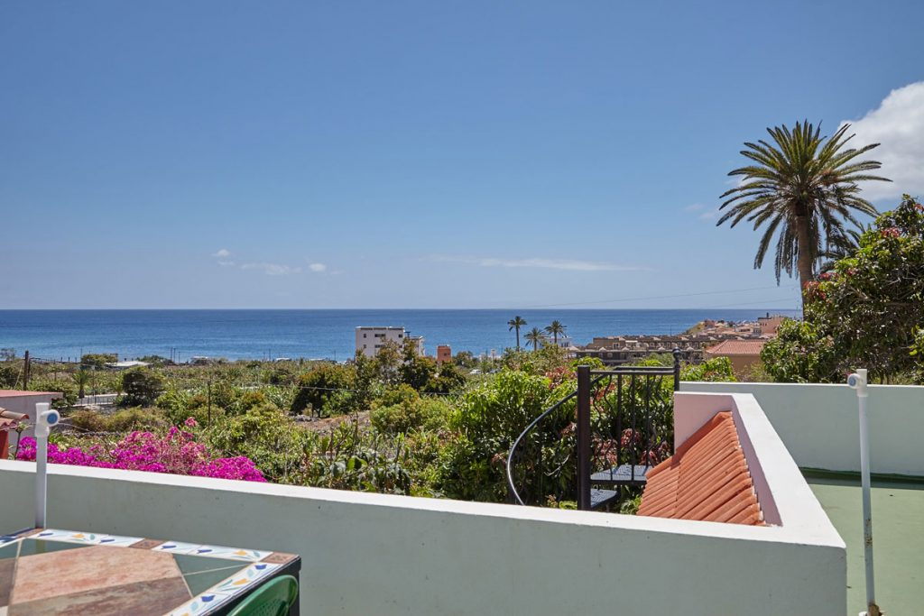 roof terrace: view of La Playa